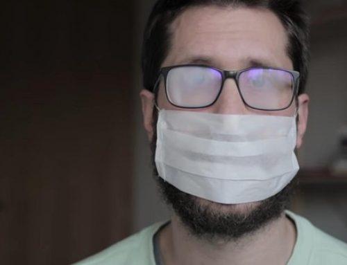 ¿Cómo evitar que las gafas se empañen al llevar puesta la mascarilla?